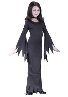 amazoncom partyland morticia child 4 6 costume toys - Partyland Halloween Costumes