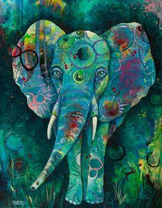Cardinal de léléphant nimporte quand Cardinal Blue Elephant. | Etsy
