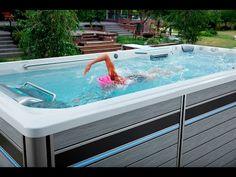 New Endless Pools E500 Swim Spa - Endless Pools Swim Spa Dealer San Diego - YouTube