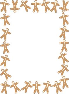 Man Printable Gingerbread Girl | Craft Foam Gingerbread Man Printable Pattern - kootation.com