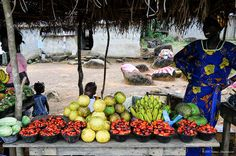 Fruit seller: Monrovia Liberia