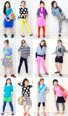 Crewcuts Looks... all a major YES! Girls Tween Fashion Clothing Style