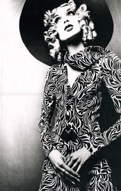 Model Madeleine Smith in the first Biba mail order catalogue shot by Donald Silverstein #lisaeldridge