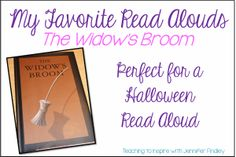 I love reading Chris Van Allsburg's books to my students. The Widow's Broom is one of my favorites, and perfect as a Halloween read aloud for upper grades.