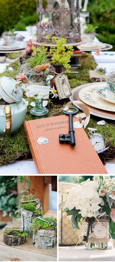 Decoracion de boda con llaves vintage #vintage #vintageweddings #weddingdecor