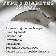 I've heard a lot of misconceptions about Type 1 Diabetes #t1d so I thought I'd clear a few up...ask away if you have more.  I've been slowly trying to open up more about my journey with diabetes in hopes to help and inspire others. Also November is diabetes awareness month and I've decided to plan some special things for it. by justdanielle720