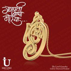 Exclusive offers for this Ganesh Chaturthi- Shop at IskiUski.com and get flat 10% off on all gold, diamond and gemstone jewellery.!!   #HappyGaneshChaturthi #GaneshPendant #Pendant #IskiUski