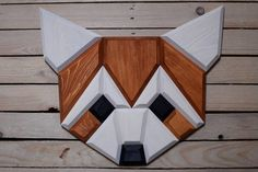 wooden red panda wall decor Wood Pallet Art, Wood Art, Wooden Wall Art, Wooden Walls, Wood Projects, Woodworking Projects, Crafty Fox, Wooden Animals, Wood Slats