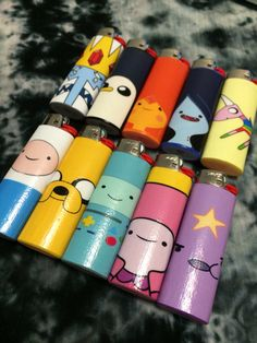 Adventure Time Character Lighter by FoxgloveCollective on Etsy, $8.50