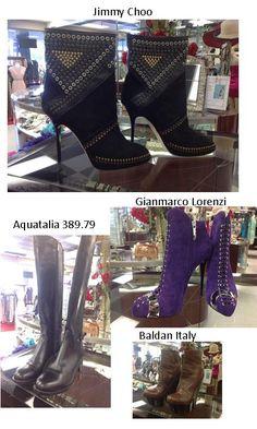 Choo, Baldan, Aquatalia, Gianmarc0 Lorenzi Boots