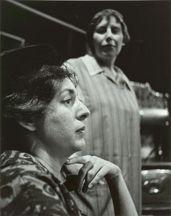 THE KILDEER. Maureen Fox, Francess Halpenny. Hart House Theatre