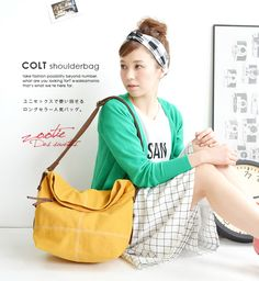 e-zakkamania stores   Rakuten Global Market: The large canvas bag which adjusts to life of shoulder bag / every day. Take a slant; possible ◎ Lady's bag bag cloth canvas cotton ◆ zootie (zoo tea): Colt shoulder bag