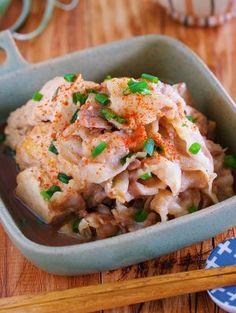 包丁いらず♪重ねて放置で完成♪『旨味凝縮♡蒸し焼き肉豆腐』 by Yuu | レシピサイト「Nadia | ナディア」プロの料理を無料で検索