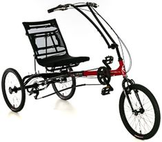 The Eco Delta SX is one of the newest additions to the SunSeeker delta trike family. This is our most affordable trike, but just because its affordable doesn't mean that it is not full of features. Unlike most of the recumbent trikes for sale that we have, the Eco Delta has one wheel in front and two in the back. This raises the seat up higher which is why many choose the delta trikes. Lowrider Bicycle, Trike Bicycle, Recumbent Bicycle, 49cc Moped, Ramp Design, Electric Tricycle, Park Tool, Custom Paint Jobs, 3rd Wheel