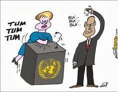 Dilma e Obama na ONU