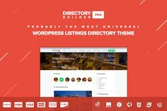 Directory Builder Pro WP Theme by AlexGurghis on Creative Market