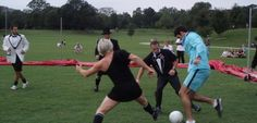 Soccer in the Streets: Black Tie Soccer Game http://cansoccersavetheworld.com/2013/soccer-streets-black-tie-soccer-game/