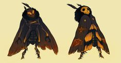 moth by *CoconutMilkyway on deviantART