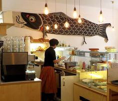 A Japanese bakery and cafe in Charlottenburg, Berlin.
