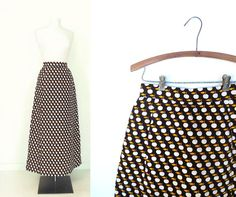 Vintage Givenchy Skirt / 1960s Maxi Skirt / by SmallEarthVintage
