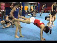 ▶ 3-27-2013 Slider Conditioning Relay - YouTube Gymnastics Warm Ups, Gymnastics Games, Gymnastics Lessons, Gymnastics Academy, Gymnastics Tricks, Gymnastics Coaching, Gymnastics Training, Acrobatic Gymnastics, Gym Games