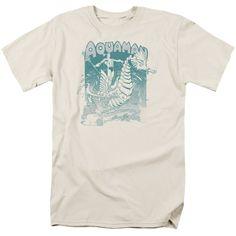 2f1f25d78eca Aquaman: Catch A Wave T-Shirt Short Sleeve Tee, Short Sleeves, Aquaman