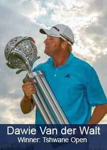 Dawie, winner of the Tshwane Open 2013. He eagled the longest par 5 in European Tour History! 685 yard par 5..