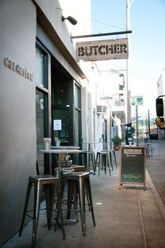 Old principles put into new use. The Cochon Butchery serves meat like the old corner butcher of times gone by, but with a twist... with wine!