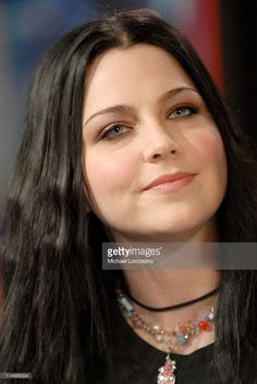 Amy Lee of Evanescence during Michelle Trachtenberg, Amy Lee of Evanescence, and Cartel Visit MTV's 'TRL' - December 21, 2006 at MTV Studios - Times Square in New York City, New York, United States.