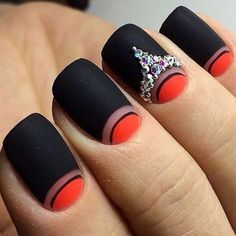 Beautiful Rhinestones Nail Art Ideas Just for You