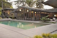 Amazing Mid Century Modern House Ideas 30 - House Plans, Home Plan Designs, Floor Plans and Blueprints Mid Century Modern Design, Modern House Design, Modern Interior Design, Home Design, Ikea Design, Design Ideas, Salon Design, Design Inspiration, Maison Eichler