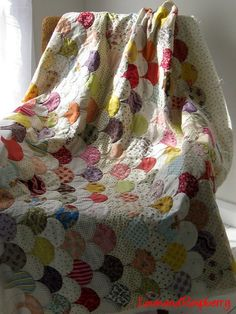 clamshell quilt.