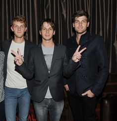 Foster the People performs at AG bash at Marquee nightclub