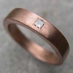 Rose gold Wedding Band - my wedding ring when I get married one day :)