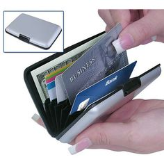2-Pack: RFID Blocking Security Credit Card Wallets at 82% Savings off Retail!