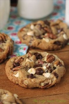Probably the best chocolate chip cookies you'll ever have the honor of meeting. Expect the unexpected with these gems!