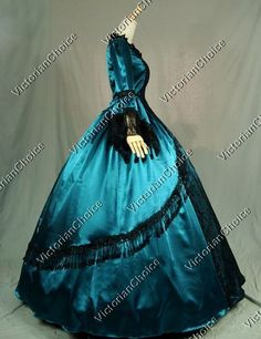 High Quality Marie Antoinette Renaissance Fair Queen Dress Ball Gown Theater Period Costume 142