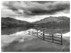 Fence. Ullswater. Lake District