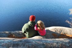 "Looking at the lake ""Tom Thompson"" Algonquin Park #familylove #getoutside"