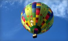 before I die, I will go for a hot air balloon ride.