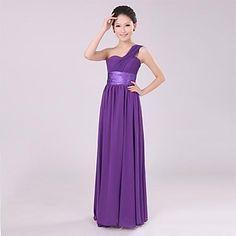 Comes in dark blue Women's  High-grade Bridesmaid Dinner Dress – USD $ 45.49
