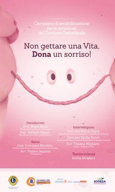 Illustrazione per una campagna di sensibilizzazione per la donazione del cordone ombelicale