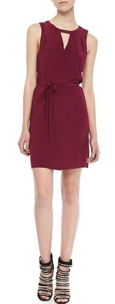 Yasmine Sleeveless Shift Dress #icouldtotesrockthis