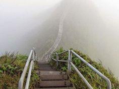 危険だけど美しい…「天国への階段」と呼ばれるハワイの禁断スポット : らばQ.