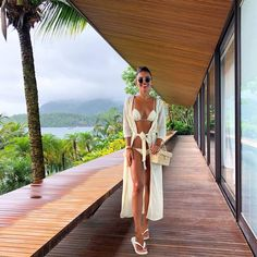 Shop for stylish Designer Swimwear for Women at REVOLVE CLOTHING. Find designer bathing suits including Bikinis, One Piece suits & more from top brands! Honeymoon Outfits, Vacation Outfits, Beachwear Fashion, Beachwear For Women, Beach Party Outfits, Summer Outfits, Foto Tablet, Lingerie Design, Fashion Design Inspiration