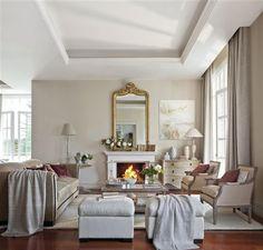 Decandyou. Ideas de decoración y mobiliario para el hogar, estilos y tendencias.Blog de decoración.: Salones con chimenea
