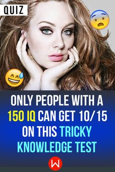 Do you have an impossibly high IQ? Test your IQ on this Tricky Knowledge test! Iq Quizzes, Quizzes Funny, Quizzes For Fun, Random Quizzes, Test Your Iq, Dementia Activities, Elderly Activities, Physical Activities, Interesting Quizzes