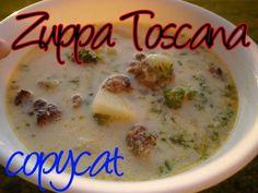 Homemade Olive Garden Toscana Soup