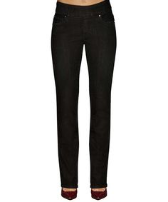 Another great find on #zulily! Black Bootcut Jeans #zulilyfinds