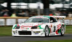 1997 TOMs Toyota Supra JGTC.... they had this car in one of the first Gran Turismo games